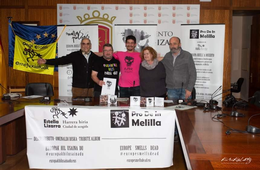 Rueda de prensa con Maite Echarte y José Palazón: Foto Kirikolatz Argazkigintza